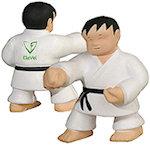 Karate Man Stress Balls